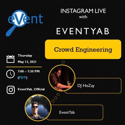 EventYab Live - Crowd Engineering