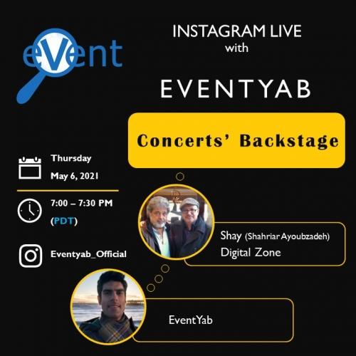 EventYab Live - Concerts' Backstage