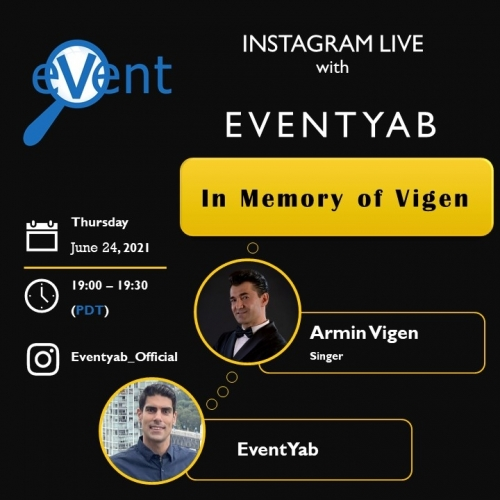 EventYab Live - In Memory of Vigen
