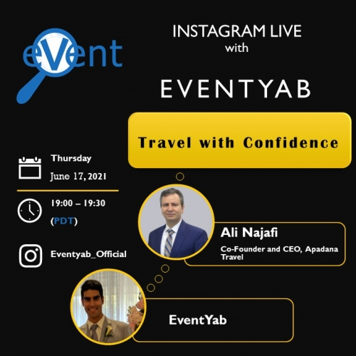 EventYab Live - Travel with Confidence