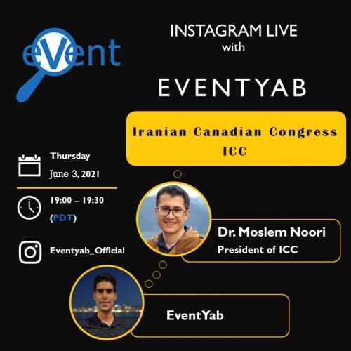 EventYab Live - Iranian Canadian Congress