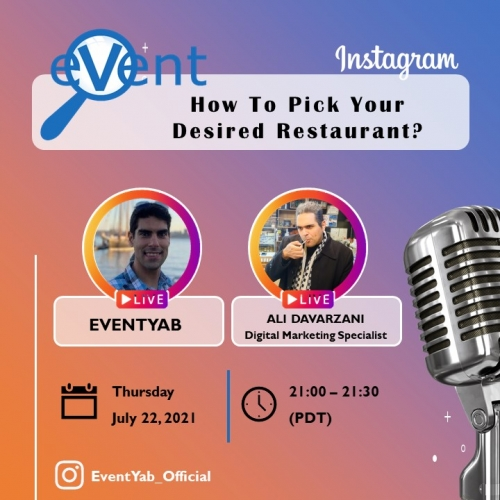 EventYab Live - How To Pick Your Desired Restaurant?