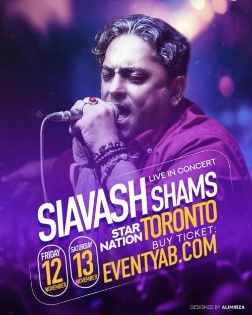 Siavash Shams Live in Toronto