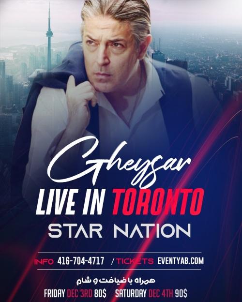 Gheysar Live in Toronto