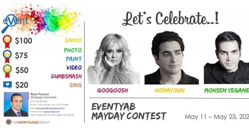 "EventYab Instagram Contest - ""MayDay"" Celebration"