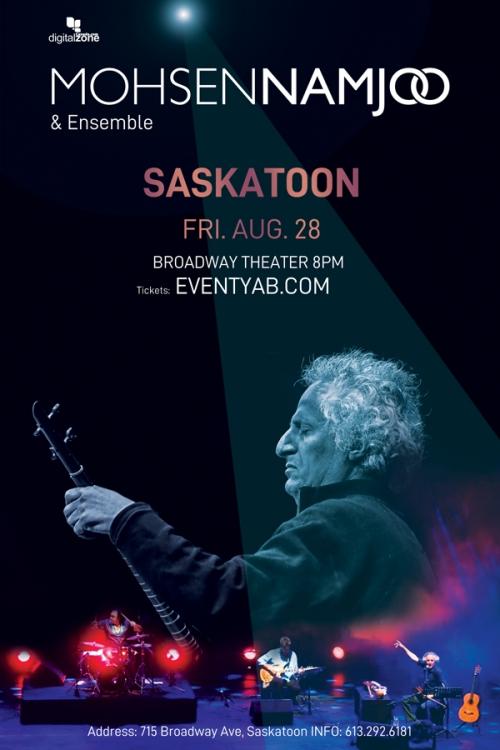 POSTPONED - Mohsen Namjoo Live in Saskatoon