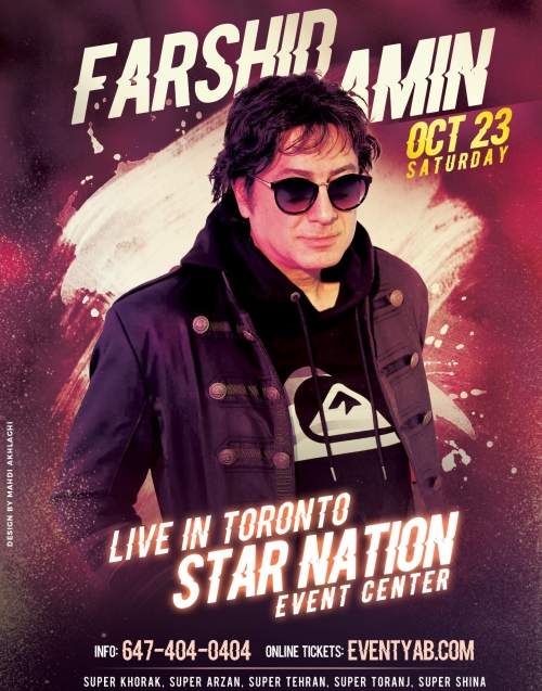 FARSHID AMIN Live in Toronto